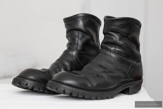 Julius = last drop = engineer vibram sole leather boots Size US 9.5 / EU 42-43 - 4