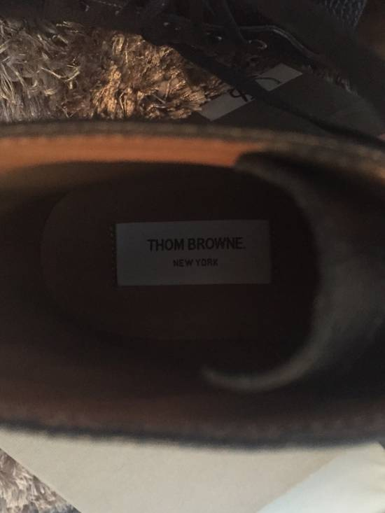 Thom Browne New $790 Pebbled Leather Boots Size US 8 / EU 41 - 7