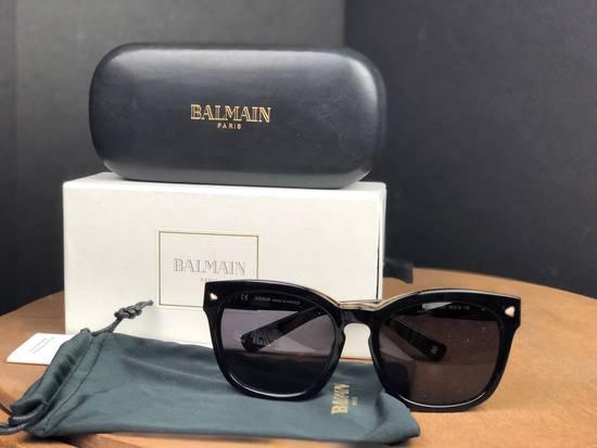 Balmain Balmain Black Gold Sunglasses BL 7008 Size ONE SIZE