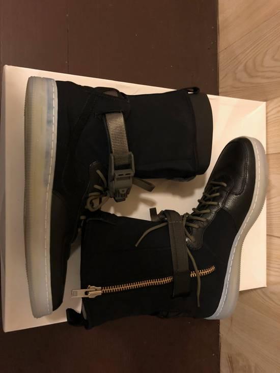 Nike Air Force 1 Downtown Acronym Black Olive Size US 8.5 / EU 41-42 - 2