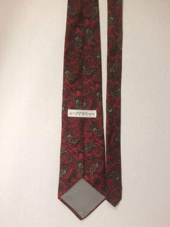 Givenchy Givenchy Monsieur Red Paisley Tie Size ONE SIZE - 1