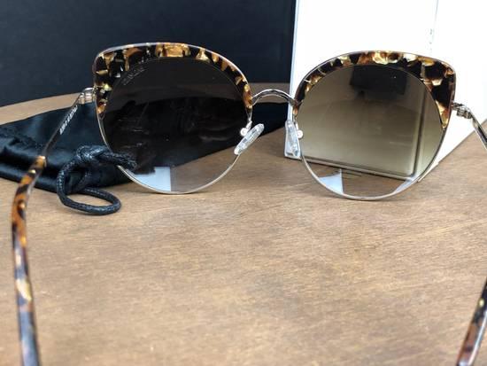 Balmain Balmain Black Gold Sunglasses BL 2509 Size ONE SIZE - 5