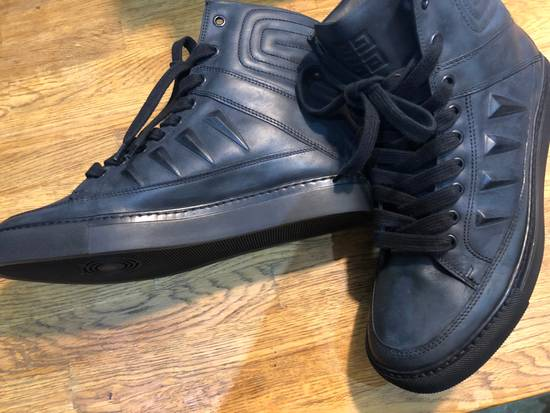 Givenchy Givenchy by Riccardo Tisci 2010 Triple black covered studs sneakers Size US 7 / EU 40 - 3