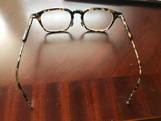 Thom Browne Tortoiseshell Acetate TB-406 Glasses Size ONE SIZE - 1
