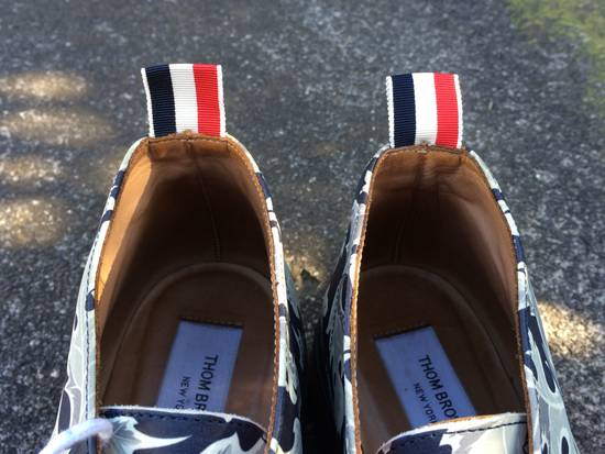 Thom Browne FW14 Leaf Print Shoes Size US 8 / EU 41 - 5