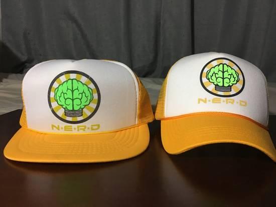 Pharrell Vintage N*E*R*D Gold/White Trucker Hat (2003) Size ONE SIZE - 9