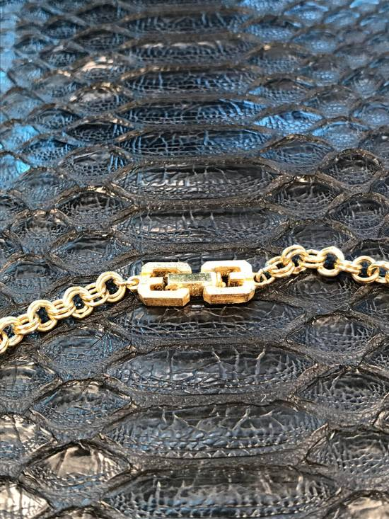 Givenchy Gold Razor Motif Necklace Chain Size 34 - 3