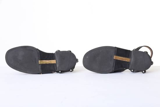 Givenchy GIVENCHY TISCI black leather jewel outsole ankle dual strap sandal EU41 US11 UK8 Size US 8 / EU 41 - 6