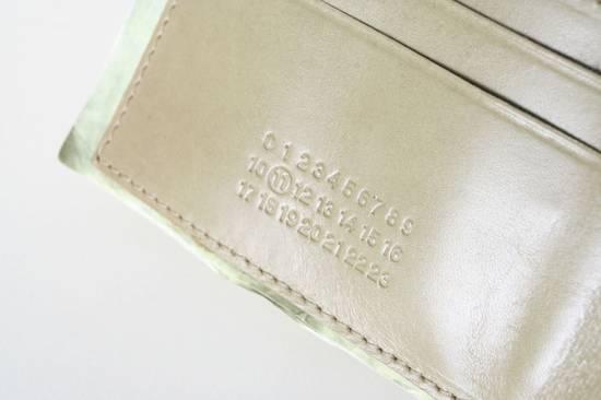 Maison Margiela rare MAISON MARTIN MARGIELA $11 dollar bill elastic band bifold leather wallet Size ONE SIZE - 7