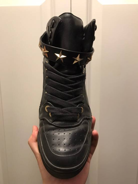 Givenchy Tyson Star Sneaker Black Gold Star Size US 11 / EU 44 - 7