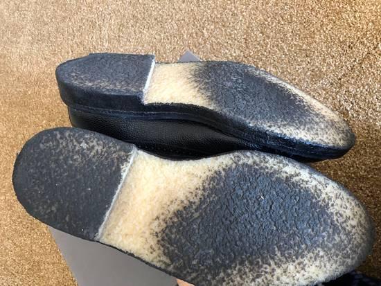 Thom Browne Men's Black Pebble Wingtip Brogue Shoe Size US 12 / EU 45 - 4