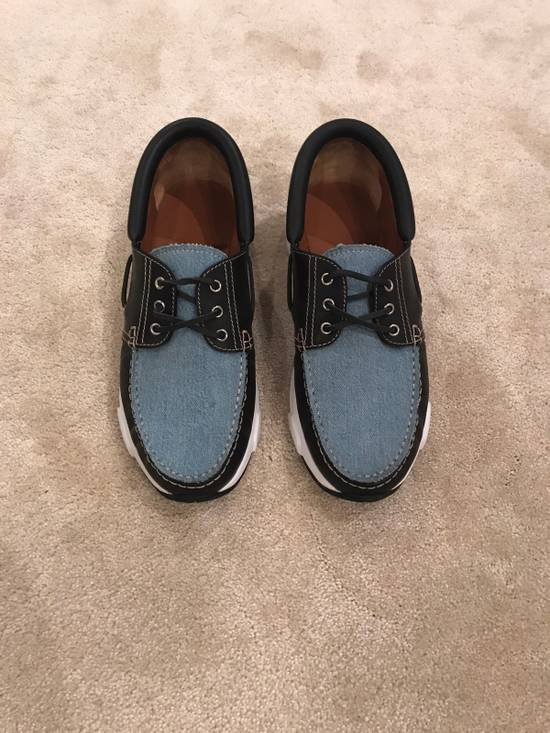 Givenchy Givenchy Denim And Black Leather Shoes Size 45 Size US 12 / EU 45 - 2