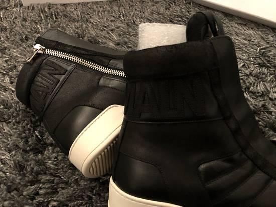 Balmain Black Leather Sneakers Size Us10 Eu43 Size US 10 / EU 43 - 6