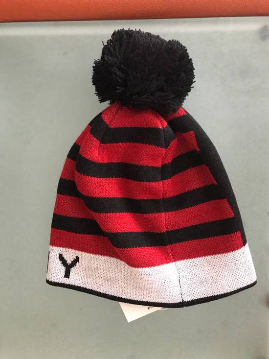 Givenchy Givenchy Pompom Logo Print Wool Blend Beanie Hat 100% Auth Size ONE SIZE - 1