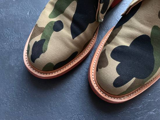 Mark Mcnairy New Amsterdam Mark McNairy x A Bathing Ape Forest Green Camo Chukka Boot Size US 8.5 / EU 41-42 - 8