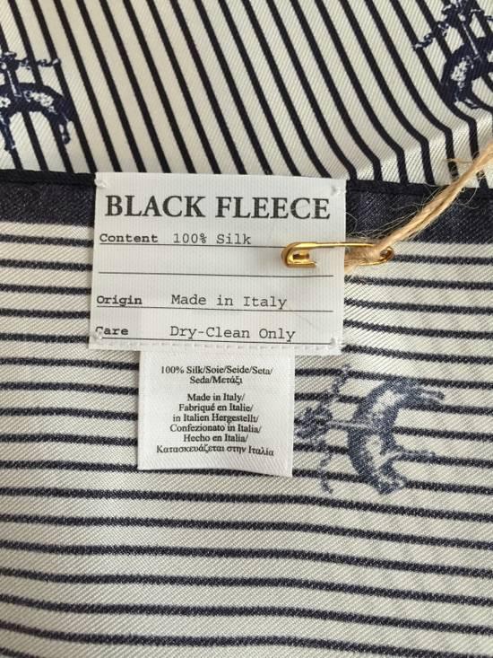 Thom Browne Black Fleece Logo Pocket Square NWT Size ONE SIZE - 2