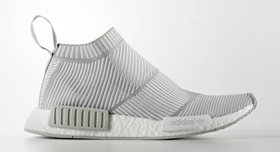 new style 0980c 29346 NMD city sock grey white *FINAL PRICE DROP*