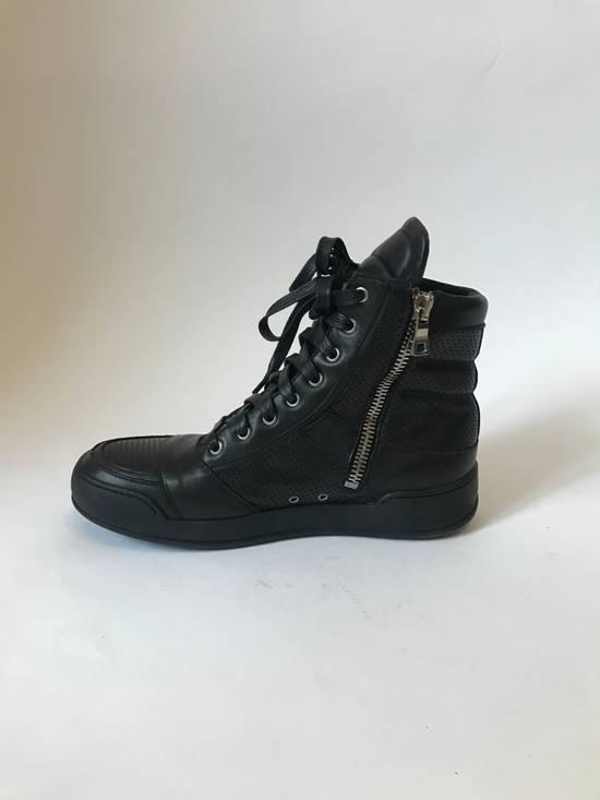 Balmain high leather sneakers Size US 8 / EU 41 - 3