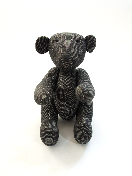 Gucci Rare Black Teddy Bear Size ONE SIZE