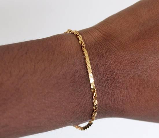 Givenchy Gold Plated Herringbone Twist Bracelet Size ONE SIZE