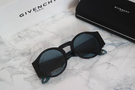 Givenchy NEW Givenchy GV 7056/S Blue Black Tint Lens Round Frame Sunglasses Size ONE SIZE - 1