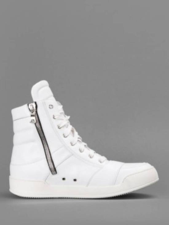 Balmain Balmain White High-Top Sneakers Size US 6.5 / EU 39-40 - 3