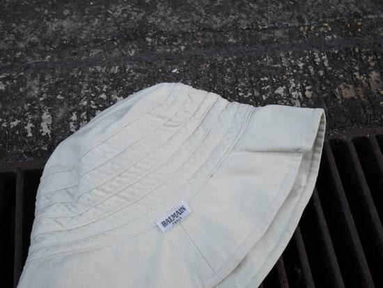 Balmain Cream White Bucket Safari Hat Likely Children's Size ONE SIZE