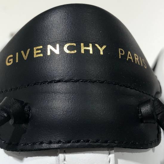 Givenchy Elastic Strap White Black Low Top Sneakers NIB Size US 7 / EU 40 - 3