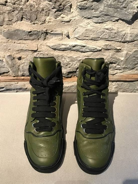 Givenchy Givenchy Green Tyson High-Top Sneakers Size US 11 / EU 44 - 6