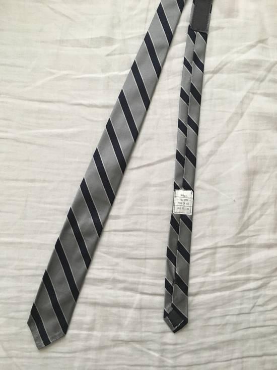 Thom Browne Silk Prep Stripe Tie Size ONE SIZE