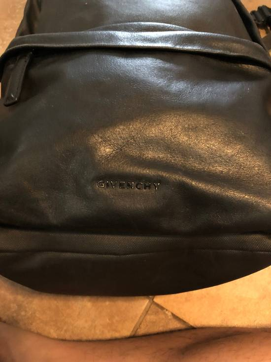 Givenchy Black On Black Leather Backpack With Metalware Size ONE SIZE - 5