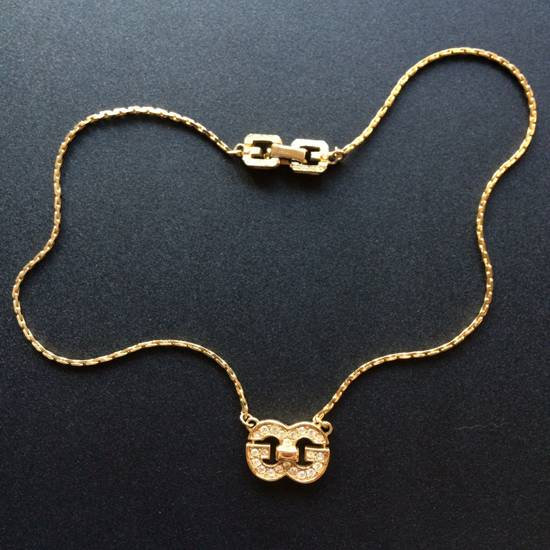 Givenchy Iced Out Double G Chain Size ONE SIZE - 1