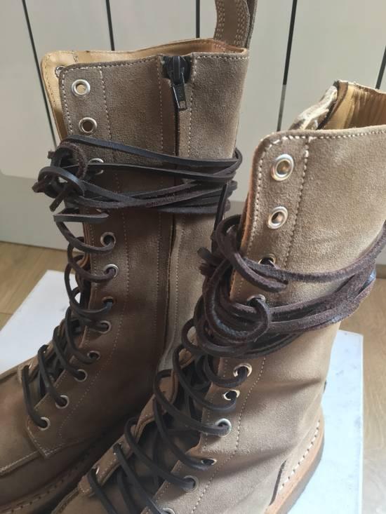 Balmain Balmain Ranger Boots Suede Decarnin 2011 Size US 9 / EU 42 - 1