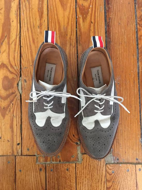 Thom Browne Suede Longwing Brogues Size US 8 / EU 41