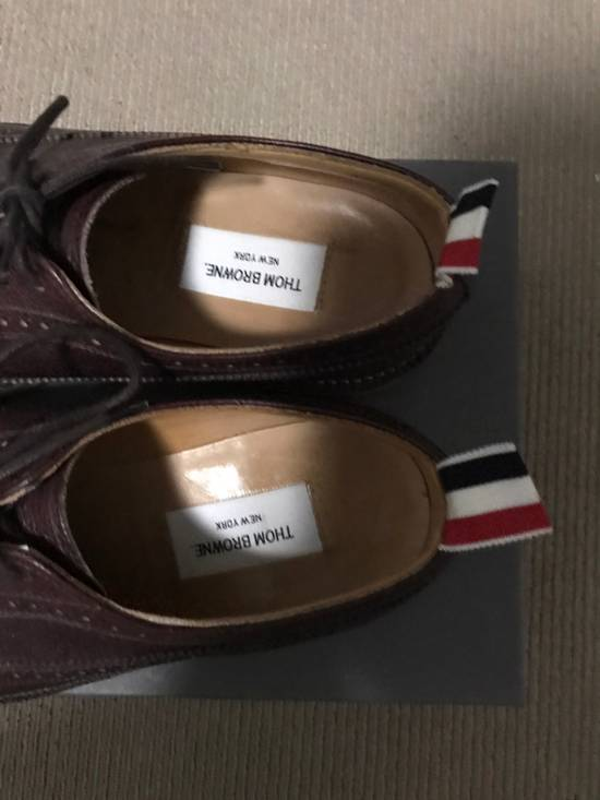 Thom Browne Long Wing Brogues Size US 9 / EU 42 - 3