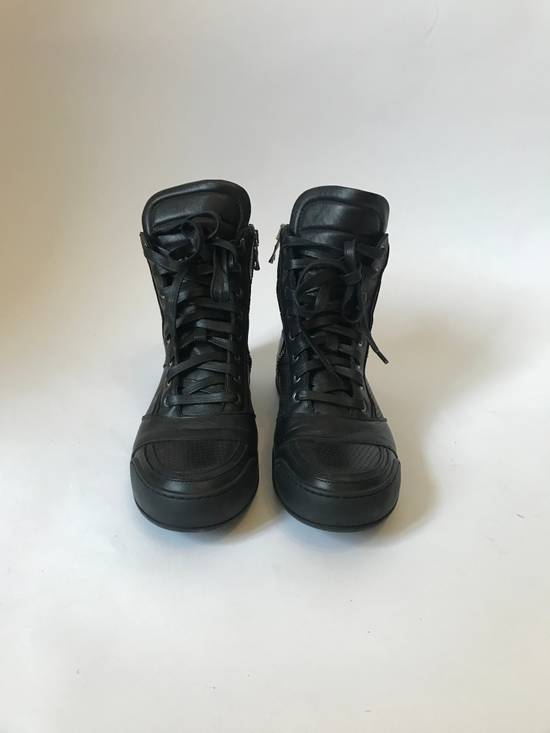 Balmain high leather sneakers Size US 8 / EU 41 - 1