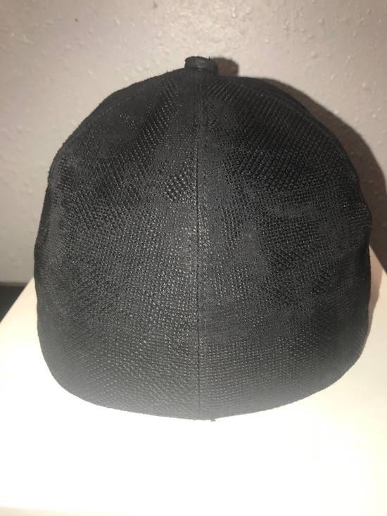 Julius MA_ JULIUS ULTRA RARE BLACK COATED LAMB SKIN LEATHER BASEBALL CAP HAT Size ONE SIZE - 13