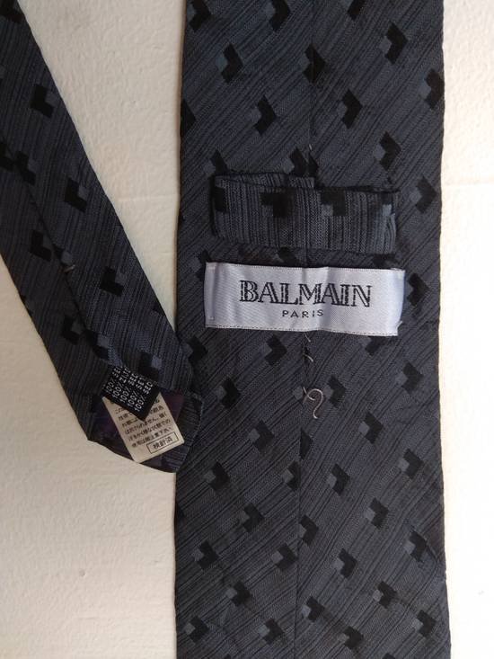 Balmain SALES START from 12/8/2018 until 12/9/2018. Right after that, the item will be deleted. FINAL DROP....Authentic Balmain tie 100% silk seta soie seida made in italy Size ONE SIZE