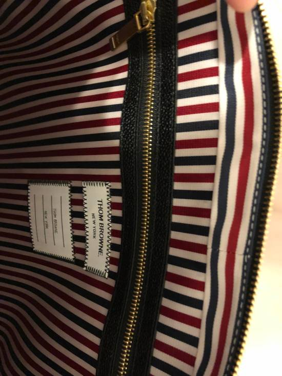 Thom Browne pebble striped briefcase Size ONE SIZE - 6