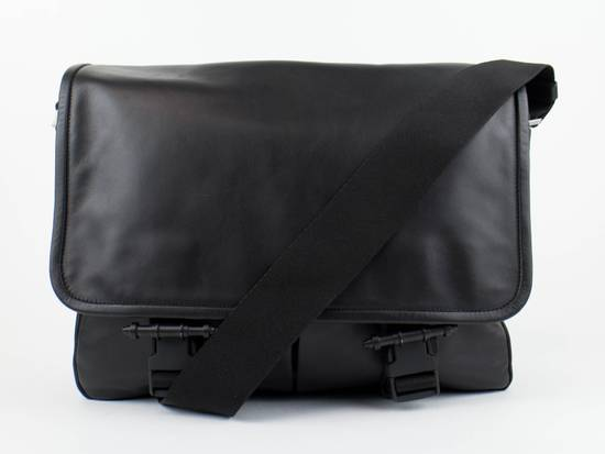 Givenchy Men's Black Obsedia Leather Messanger Briefcase Size ONE SIZE