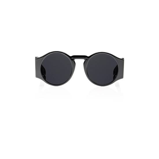 Givenchy NEW Givenchy 7056/S Black Round Thick Leg Circle Sunglasses Size ONE SIZE - 1