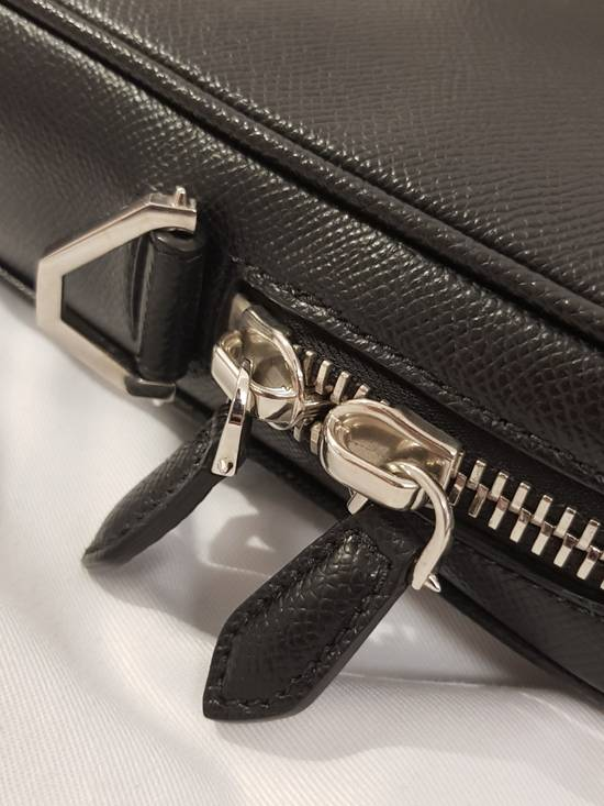 Givenchy Givenchy Men Leather Studded Black Briefcase Bag Brand New With Tags Size ONE SIZE - 2