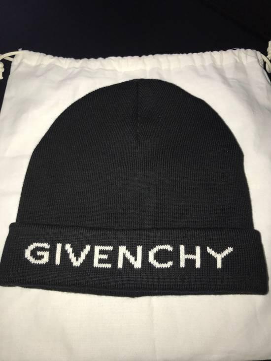 Givenchy Logo Beanie Size ONE SIZE