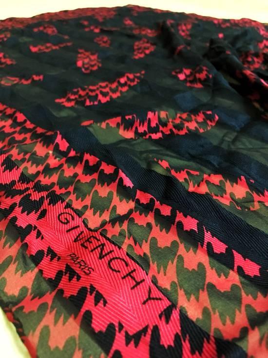 Givenchy Fish Koi Silk Scarf Size 30 - 1