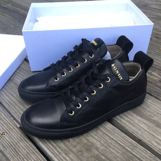 Balmain Back Leather Lowtop Sneaker Size US 8 / EU 41 - 5