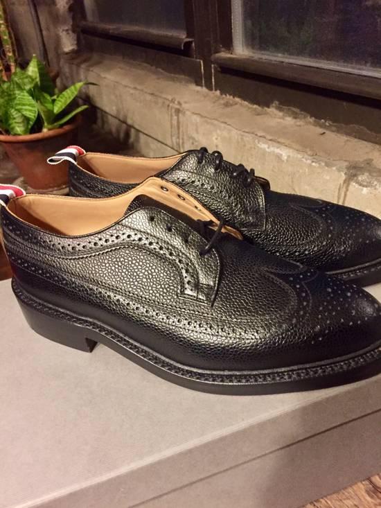 Thom Browne *Brand New* Black Leather Brogues Size US 8 / EU 41 - 1