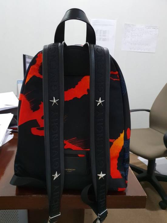 Givenchy Hell Fire Iconic Print Backpack Size ONE SIZE - 1