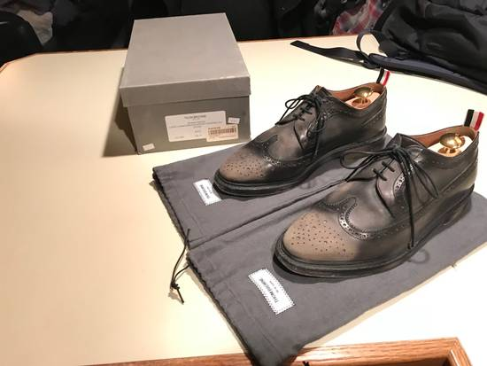 Thom Browne Phase 3 Distressed Classic Longwing Brogue Size US 10 / EU 43