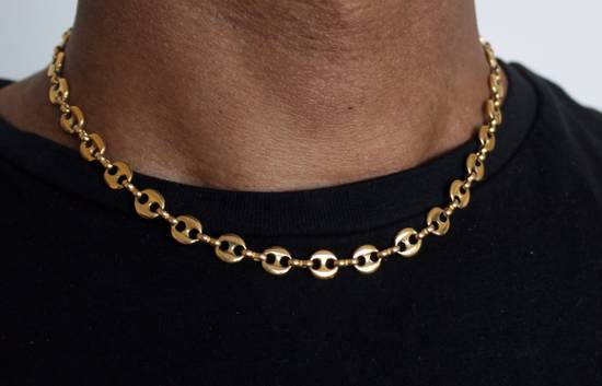 Givenchy Gold Plated Gucci-Link Necklace Size ONE SIZE