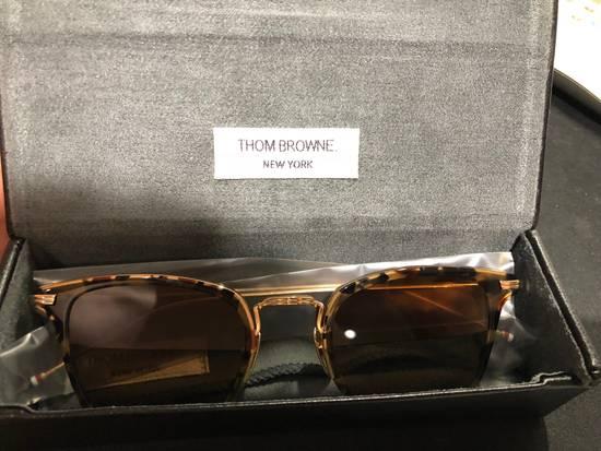 Thom Browne TB905 Tokyo Tortoise Sz 49 Size ONE SIZE - 6